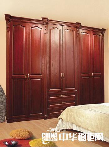 供应法尔诺衣柜-衣柜-欧式美国红橡原木衣柜