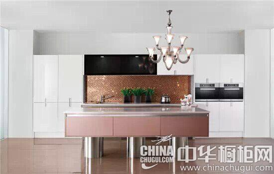 欧式厨房岛台装修效果图