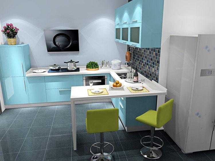 全屋多功能空间利用 厨房效果图